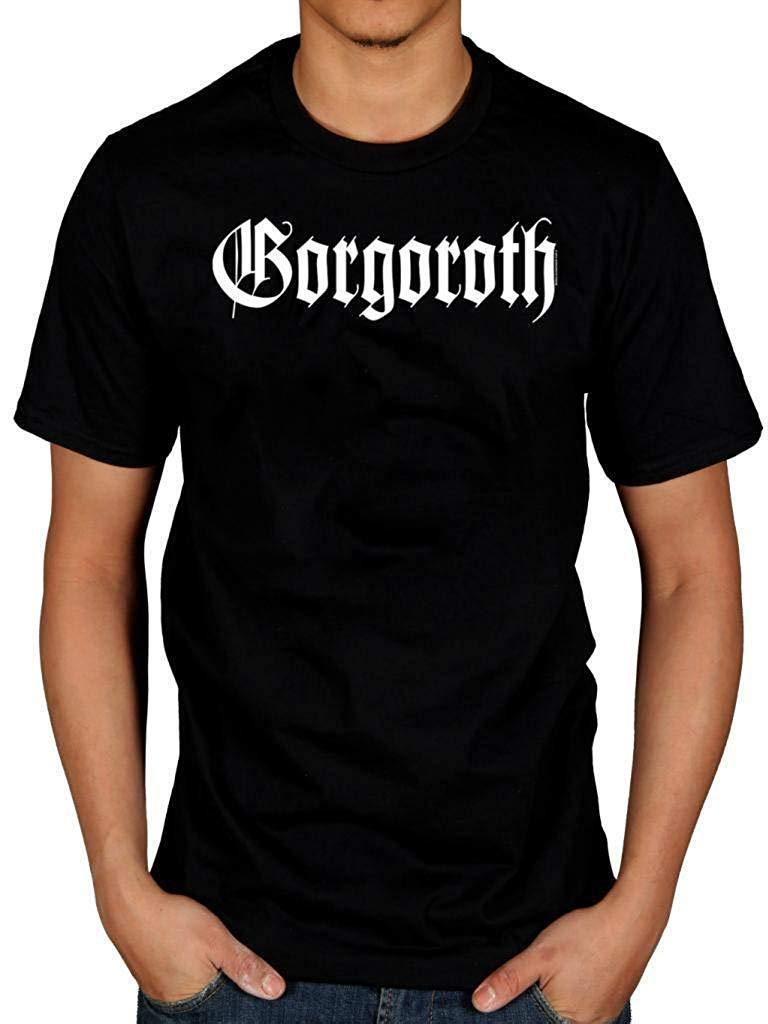 Gorgoroth Logo Black T-Shirt