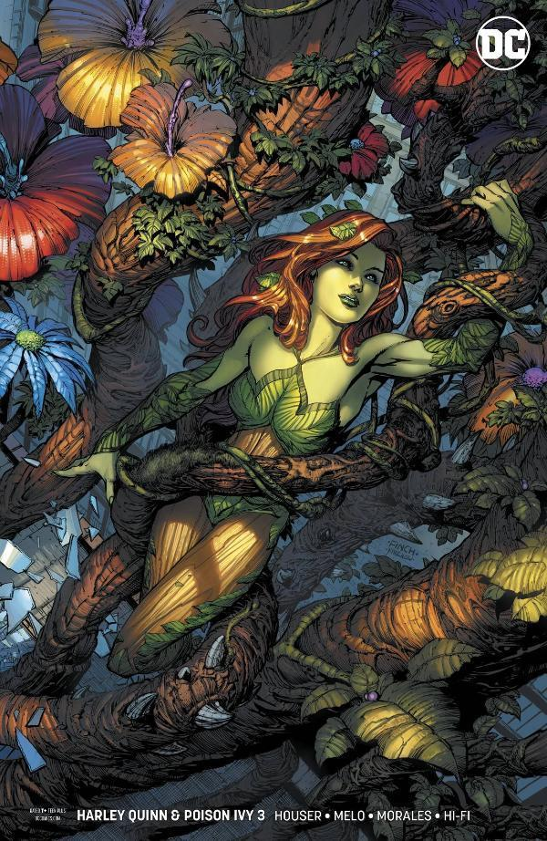 Harley Quinn & Poison Ivy #3 Finch Ivy Variant