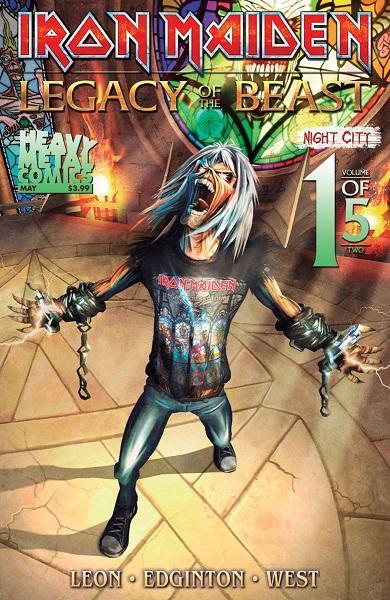 Iron Maiden Legacy of the Beast Night City Vol 2 #1