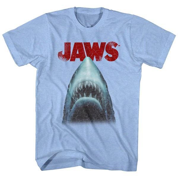 Jaws Stressed Out Blue T-Shirt