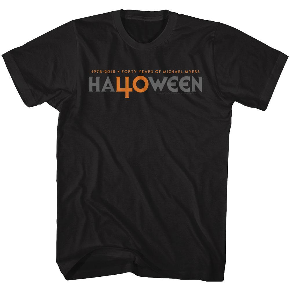 Shirt John Carpenter's Halloween 40 Year Logo T-Shirt