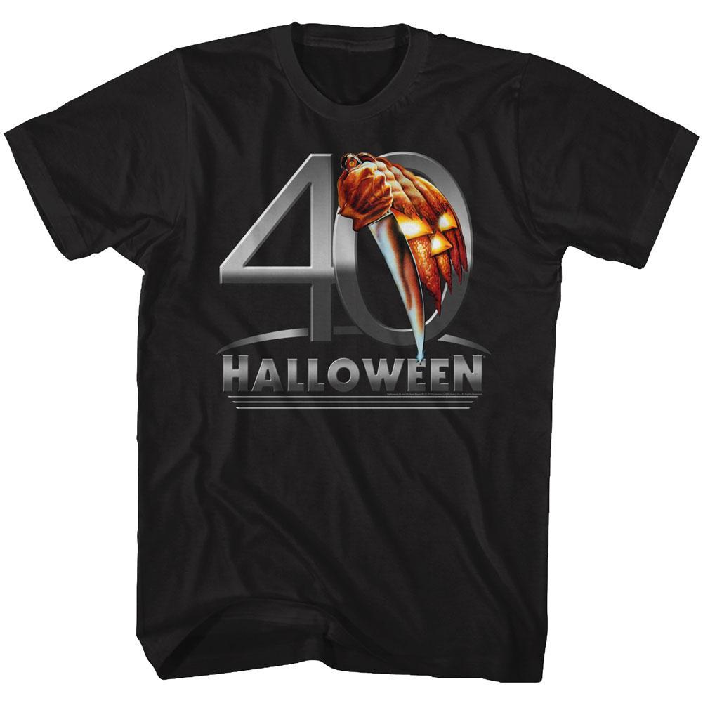 Shirt John Carpenter's Halloween 40 Years Poster T-Shirt
