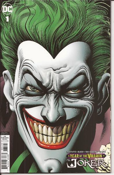 Joker Year of the Villain #1 Brian Bolland Retailer Variant