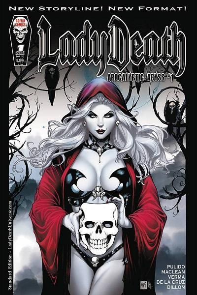 Comic Book LADY DEATH APOCALYPTIC ABYSS #1