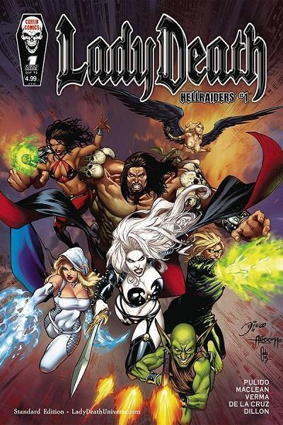 Comic Book Lady Death: Hellraiders #1 Cover A