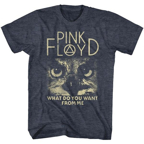 Shirt Pink Floyd What Do You Want Heather Lightweight T-Shirt