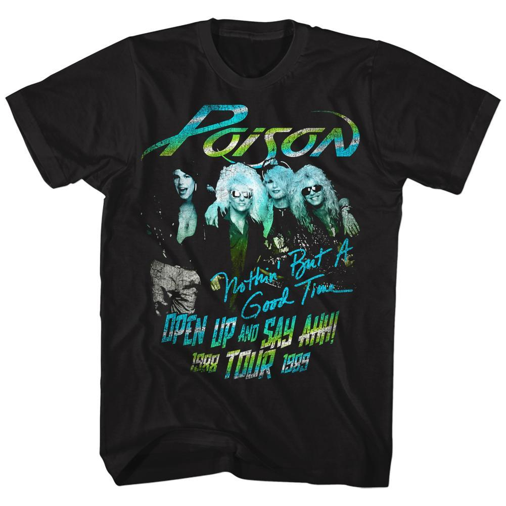 Shirt Poison Open Up 88 Tour T-Shirt