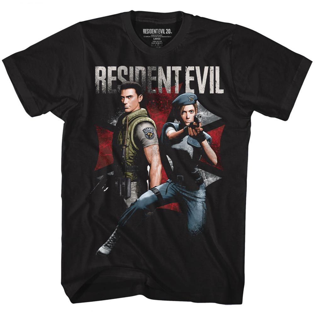 Shirt Resident Evil Chris and Jill T-Shirt