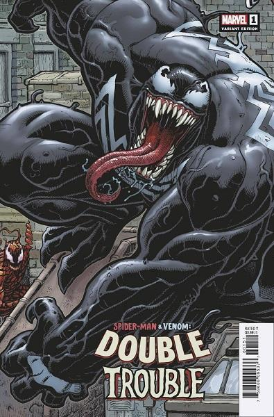 Spider-Man and Venom Double Trouble #1 Adam's Variant