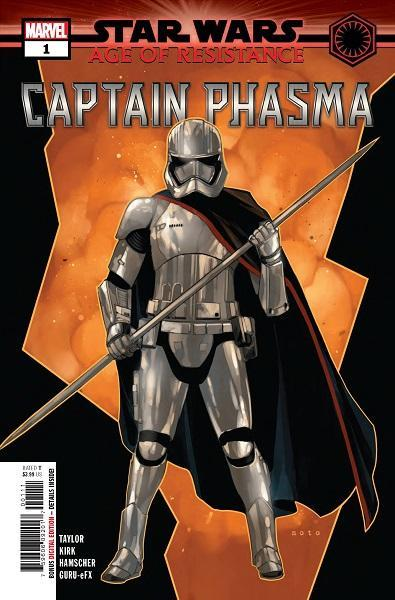 Star Wars Age of Resistance Captain Phasma #1