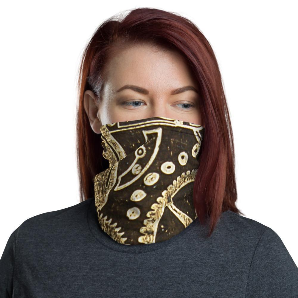 Steampunk Gears Face Mask