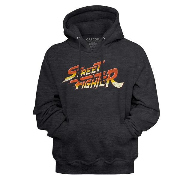 Shirt Street Fighter Logo Pullover Hoodie