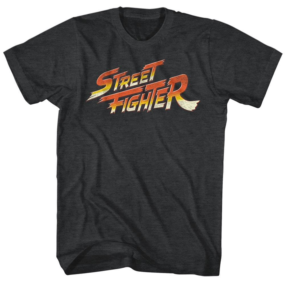 Shirt Street Fighter Logo Soft Fit T-Shirt