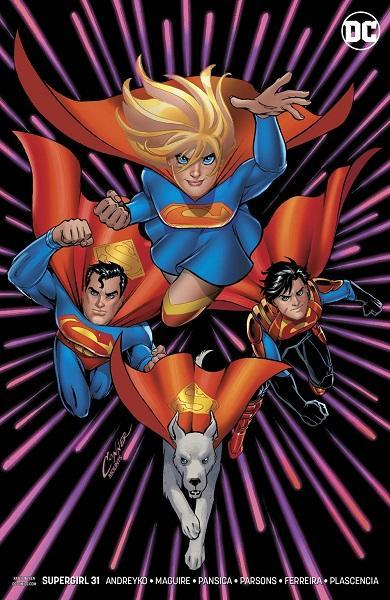 Supergirl #31 Conner Variant Cover