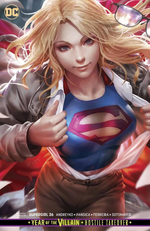 Supergirl #36 Chew Variant