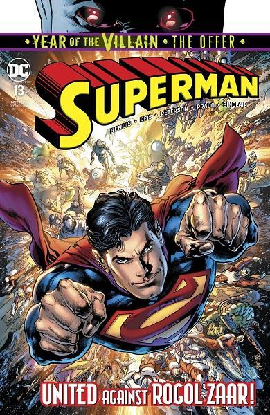 Comic Book Superman #13 Year of the Villain!