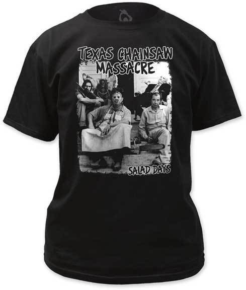 Shirt Texas Chainsaw Massacre Salad Days Black T-Shirt