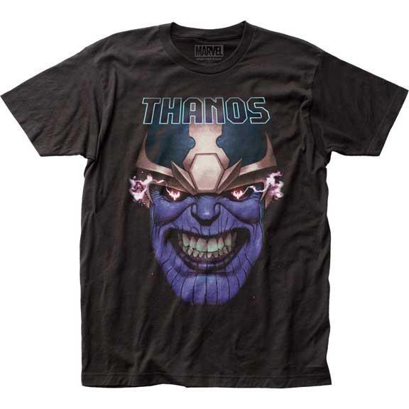 Thanos Clenched Teeth Slim Fit T-Shirt