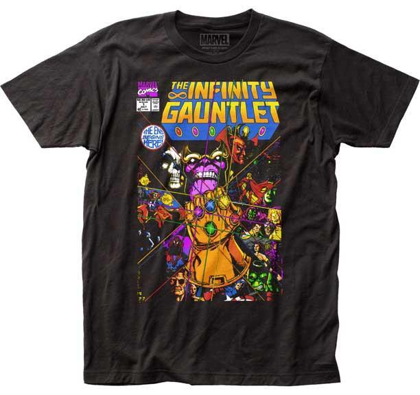 Thanos Infinity Gauntlet Slim Fit T-Shirt