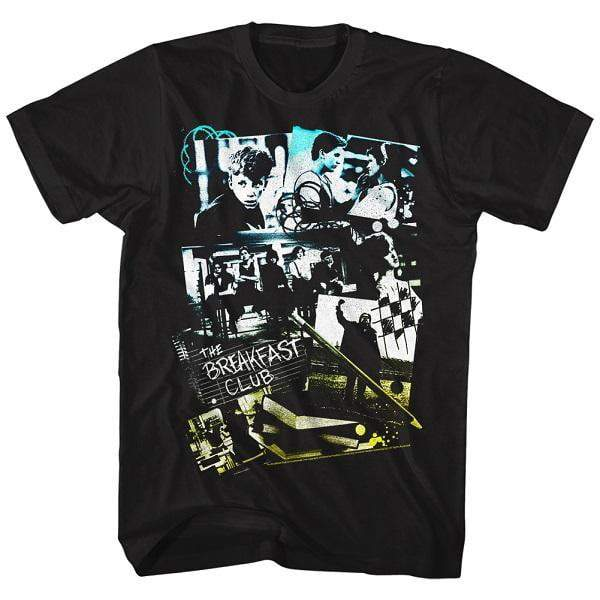 Shirt The Breakfast Club Photo Collage Black T-Shirt