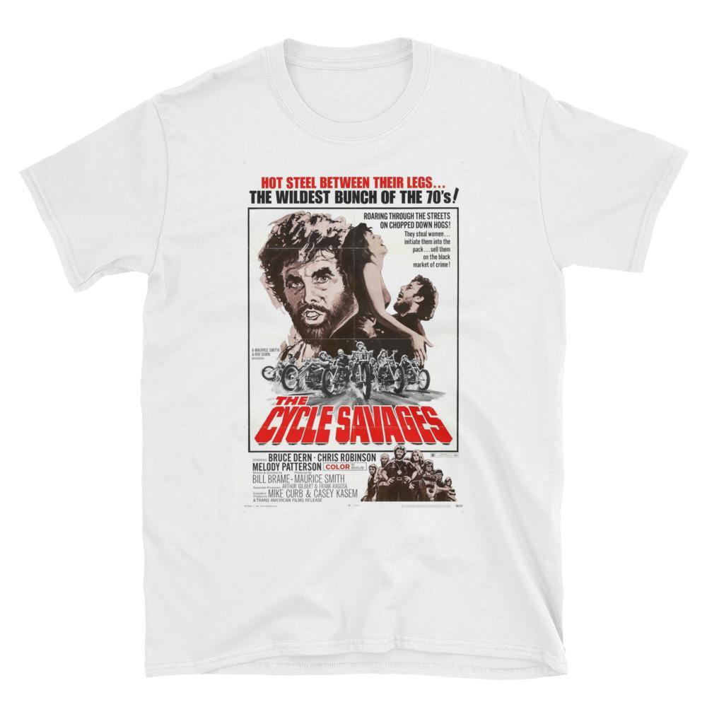 S The Cycle Savages Cult Movie T-Shirt