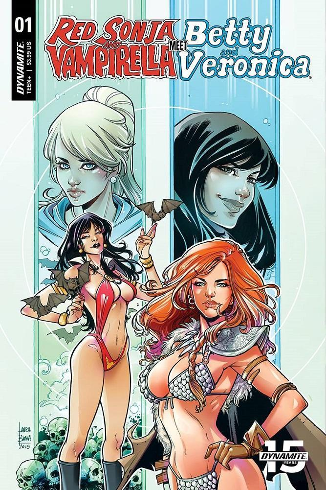 VAMPIRELLA & RED SONJA MEET BETTY & VERONICA BRAGA VARIANT