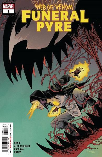 Comic Book Web of Venom Funeral Pyre #1