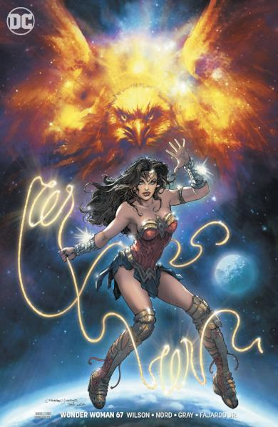 Wonder Woman #67 Variant Cover