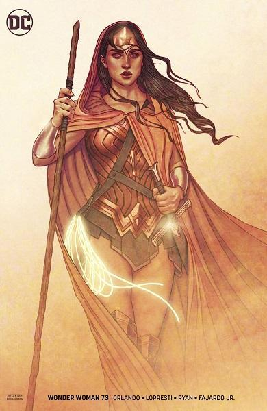 Wonder Woman #73 Variant Cover