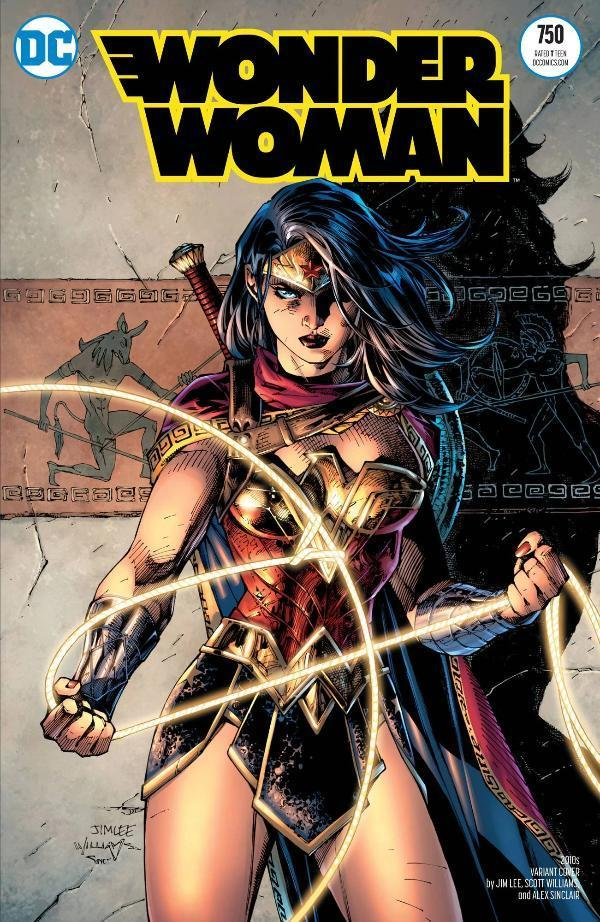 Wonder Woman #750 2010s Variant