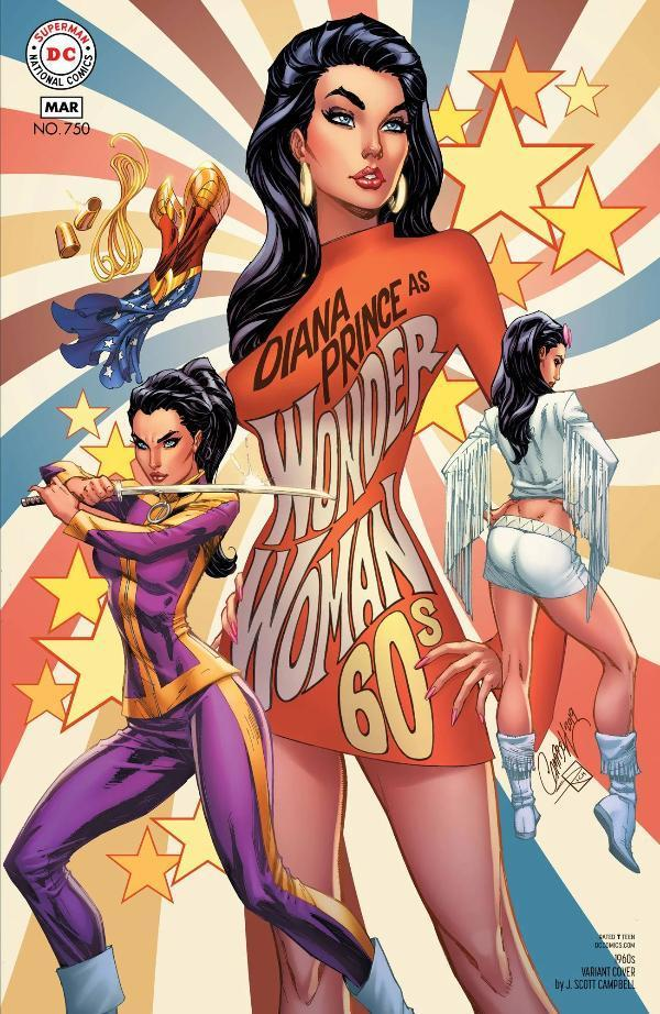 Wonder Woman #750 60s Variant