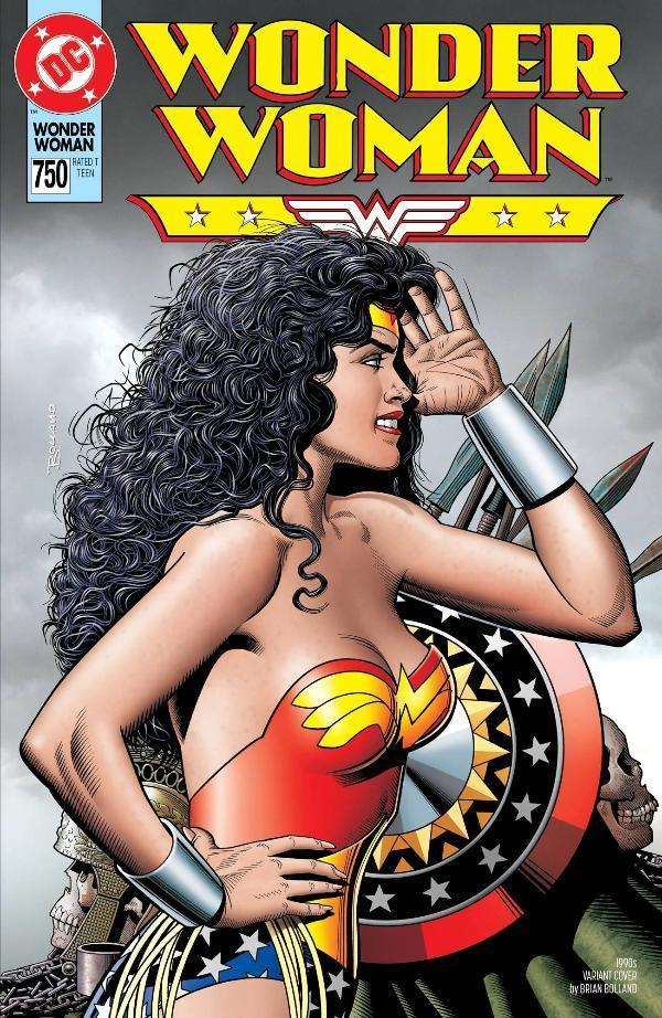 Wonder Woman #750 90s Variant