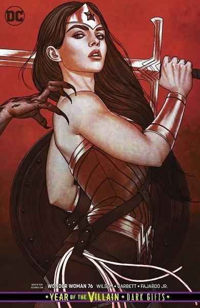 Wonder Woman #76 Card Stock Variant
