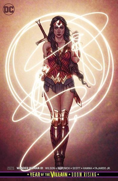 Wonder Woman #81 Variant