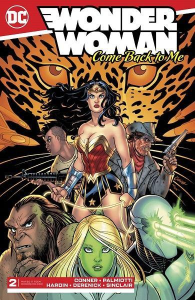 Wonder Woman Come Back To Me #2
