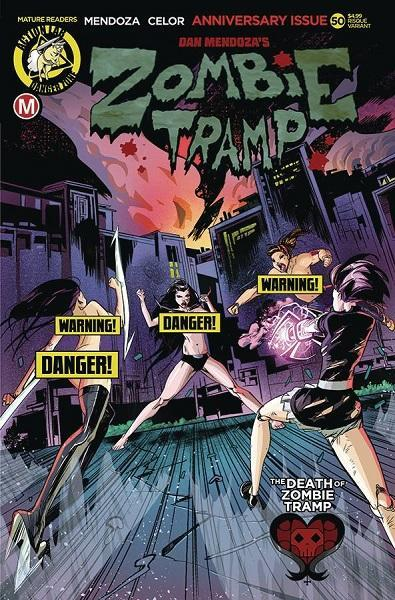 Comic Book Zombie Tramp #50 Celor Risque Variant