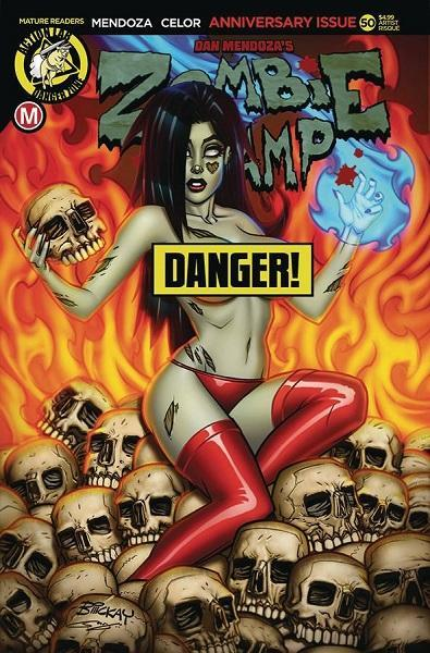 Comic Book Zombie Tramp #50 McKay Risque Variant