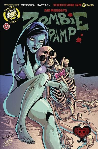 Comic Book Zombie Tramp #53