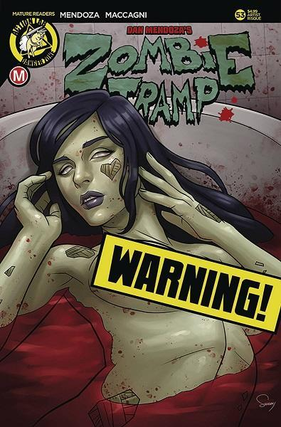 Comic Book Zombie Tramp #53 Risque Variant