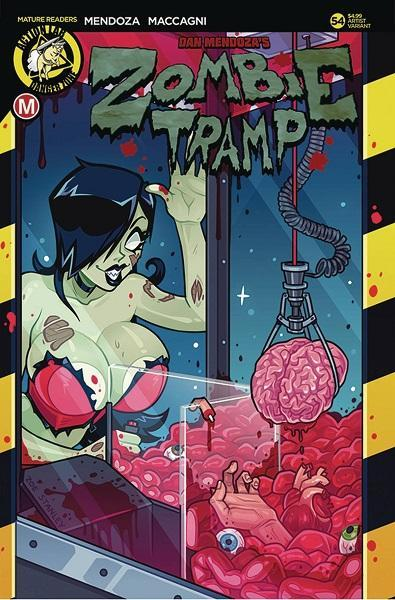 Comic Book Zombie Tramp #54 Stanley Variant