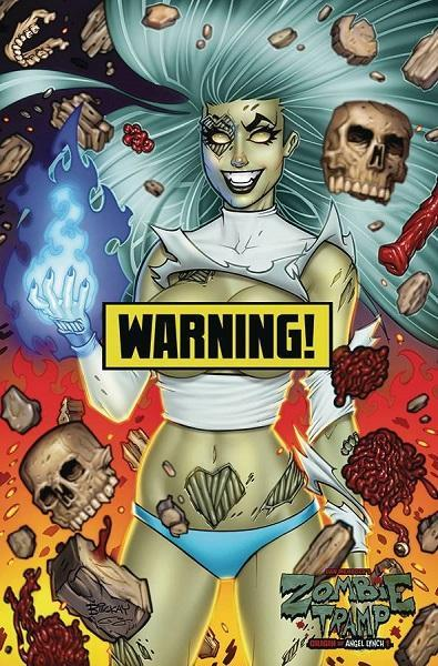 Comic Book Zombie Tramp #57 Cover D McKay Virgin Risque Variant