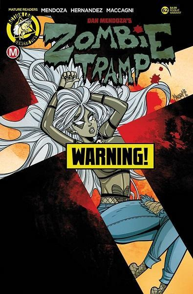Comic Book Zombie Tramp #62 Risque Cover B