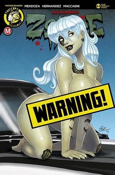Zombie Tramp #64 Harrigan Risque Limited Edition