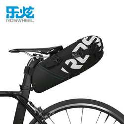 ROSWHEEL 2017 NEW MTB  bike bag cycling bicycle saddle tail rear seat waterproof Storage bags accessories high-capacity  8L