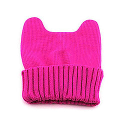 Cat beanie Hot selling Winter knitted Cap