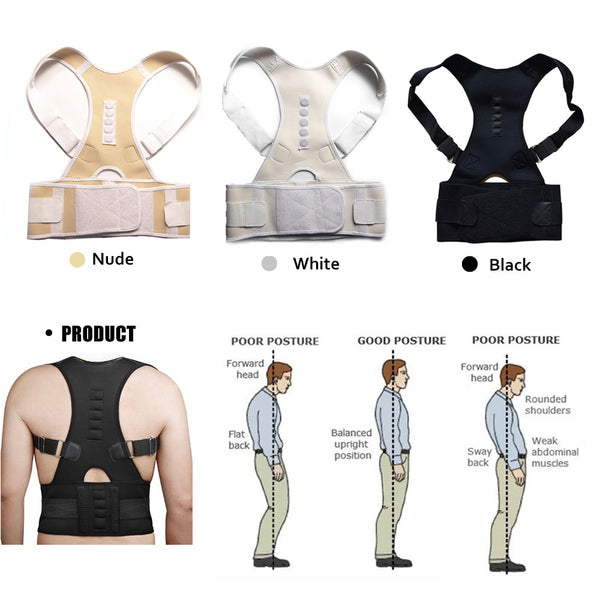 Stand a little taller and with confidence wearing this Women's/Men's Posture Corrector Therapy Back Brace - SmilyDeals