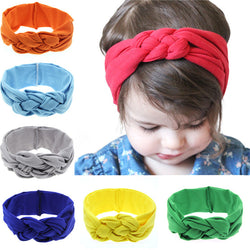 1PC  2017 Headwear Rabbit Ear Headband Fashion Elastic Girl Hats Bow Knot Hair Bands Hair Bands Hair Accessories KT003 - SmilyDeals