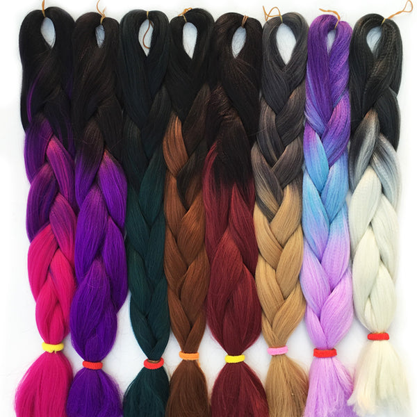 Are you looking to add colorful braided Hair Extension to Amaze everyone?