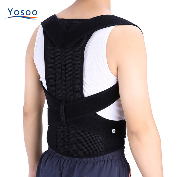 STAND TALL AND CONFIDENT Buy This Adjustable Back Posture Corrector Brace Today - SmilyDeals