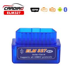 2017 Works on Android Torque super ELM327 v2.1 Mini ELM 327 Bluetooth OBDII OBD-II OBD2 Protocols Auto Diagnostic Tool Free Ship - SmilyDeals